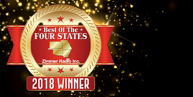 Thank you for voting us 'Best of the Four States'!
