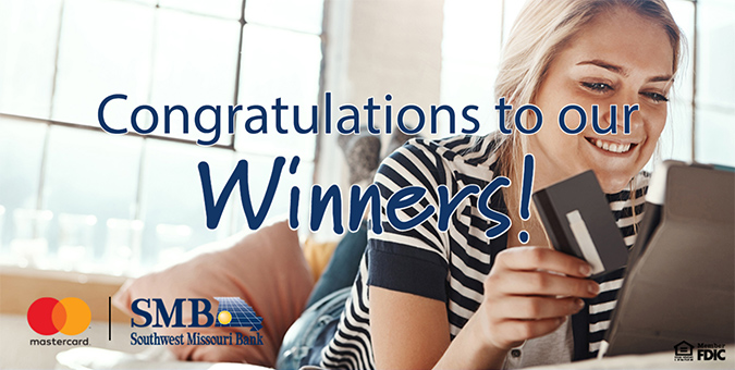 Congratulations to our latest winners!